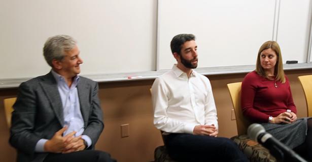 IGL Alumni Share Experiences in Business in Career Panel