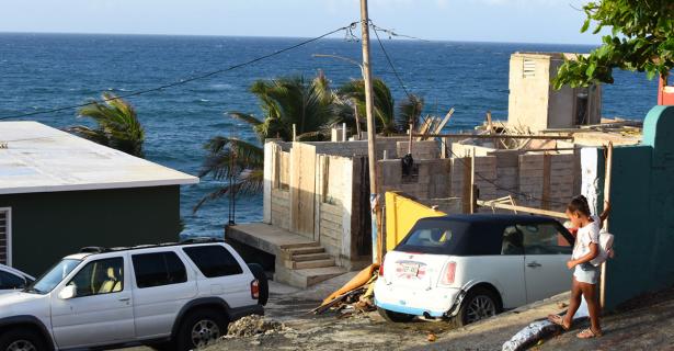 Temporary Fixes Post Hurricane Maria By Katlyn Kreie (A'19)