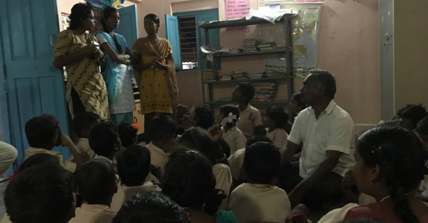 Putting on a Career Day for Thottiyapatti Children by Siddharth Divakaruni