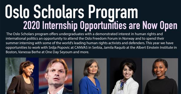 Oslo Scholars Program 2020