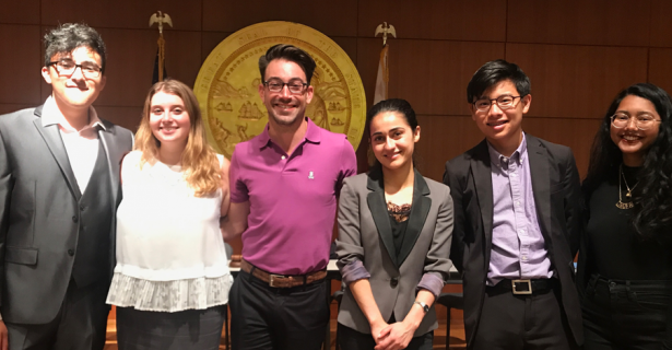 Internships with The World Affairs Council and the San Francisco Democratic Party by Alison Bogy