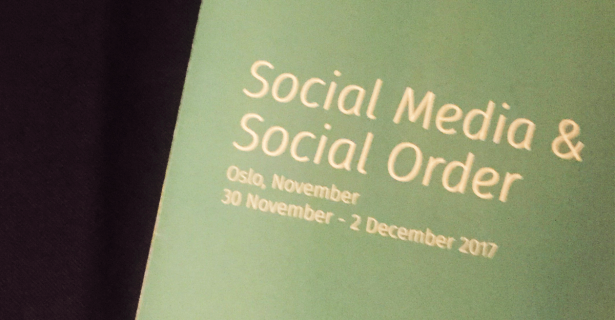 """The Fine Line Between the Digital and """"Real"""" World: Social Media and Social Order in Oslo, Norway by Shaan Merchant"""