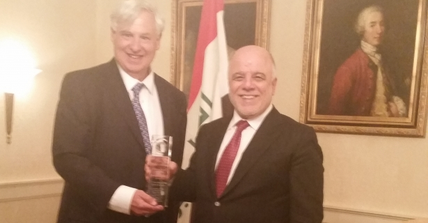 Iraqi Prime Minister Awarded Robert and JoAnn Bendetson Public Diplomacy Award