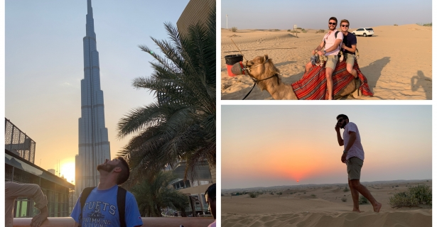 Arriving in Dubai, Acclimating, and Beginning Work by Connor Doyle (A'21)