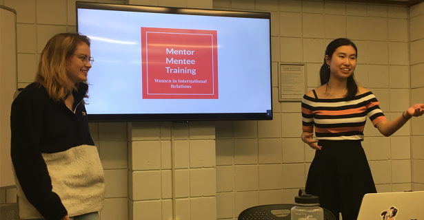 Women in International Relations: Mentee Training Session by Ellie Murphy (A'22)