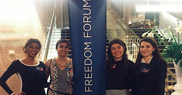 Oslo Freedom Forum and an Internship with Bahrain Rehabilitation and Anti Violence Organization by Anne Hall